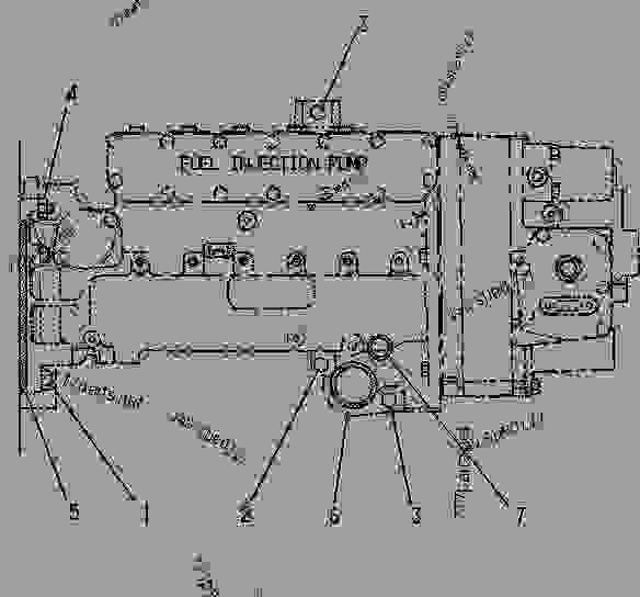 32 3406b Cat Injection Pump Diagram