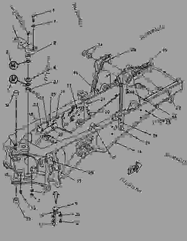 Parts scheme 9R1314 FRAME GROUP-LOADER   - BACKHOE LOADER Caterpillar 446 - 446 BACKHOE LOADER 6XF00001-UP (MACHINE) POWERED BY 3114 ENGINE CHASSIS | 777parts