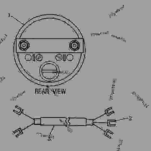 Parts scheme 7E3157 TACHOMETER GROUP-ELECTRIC   - ENGINE - GENERATOR SET Caterpillar 3304 - 3304 GENERATOR SET ENGINE 83Z00001-03095 GAUGES AND ACCESSORIES | 777parts