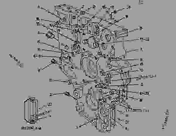 Parts scheme 9N5211 HOUSING GROUP-FRONT FRONT HOUSING GROUP - COLD PLANER Caterpillar PR-1000 - PR-1000 PAVEMENT PROFILER 5XC00001-00137 (MACHINE) POWERED BY 3208,3412 ENGINE BASIC ENGINE | 777parts