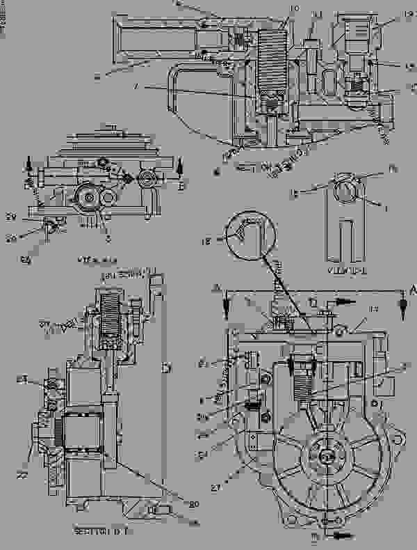 Caterpillar 3116 Fuel Pump Diagram Com
