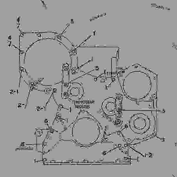 Parts scheme 2Y5717 FASTENER GROUP-FRONT HOUSING FRONT HOUSING FASTENER GROUP - ENGINE - GENERATOR SET Caterpillar 3304B - 3304B GENERATOR SET ENGINE 1YF00001-UP BASIC ENGINE | 777parts