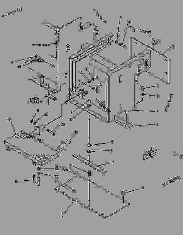 Parts scheme 7X8859 EXTENSION GROUP-SCREED  -RH - ASPHALT PAVER Caterpillar AP-800 - AP-800 ASPHALT PAVER 1BF00001-00224 (MACHINE) HYDRAULIC SYSTEM | 777parts