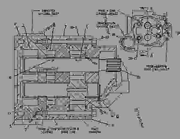 Parts scheme 6Y1259  PUMP GROUP-GEAR  - TRACK-TYPE TRACTOR Caterpillar 56H - D6H & D6H LGP TRACTORS / POWER SHIFT / 2TG00001-03999 (MACHINE) POWERED BY 3306 ENGINE POWER TRAIN-POWER TRANSMISSION UNIT | 777parts