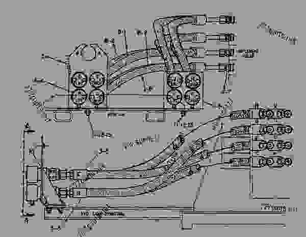 Parts scheme 3W5079  LINES GROUP-HYDRAULIC   - CHALLENGER Caterpillar 65B - CHALLENGER 65 7YC00001-01899 (MACHINE) HYDRAULIC SYSTEM | 777parts