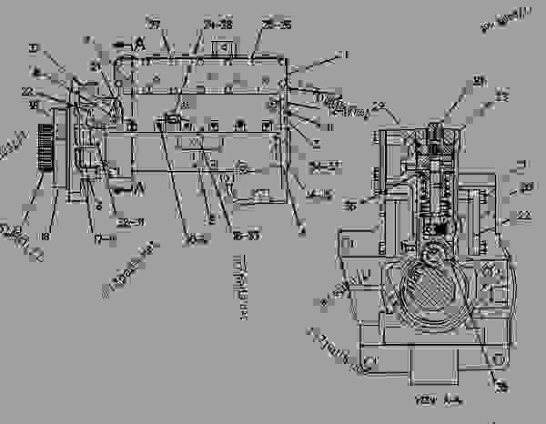 Caterpillar 400 Engine Diagram