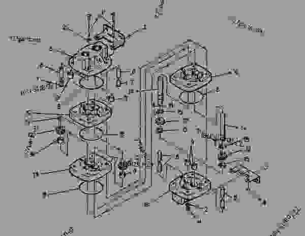 Parts scheme 0980199 VALVE GROUP-FLOW DIVIDER  - PAVING COMPACTOR Caterpillar CB-314 - CB-314 VIBRATORY COMPACTOR 6HD00009-UP (MACHINE) VIBRATORY SYSTEM | 777parts