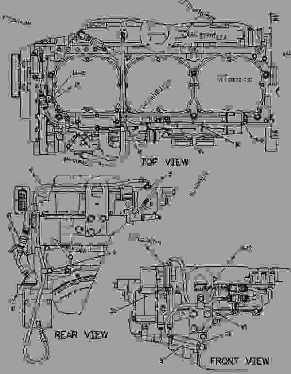 Parts scheme 4P9874 SENSOR GROUP-ELECTRONIC  - CHALLENGER Caterpillar 75 - CHALLENGER 75 / POWER SHIFT / 4CJ00001-UP (MACHINE) POWERED BY 3176 ENGINE ELECTRICAL SYSTEM | 777parts