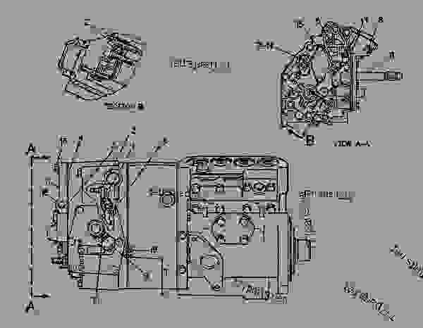 Parts scheme 2W4113 PUMP GROUP-GOV & FUEL INJ GOVERNOR & FUEL INJECTION PUMP GROUP - ENGINE - GENERATOR SET Caterpillar 3304B - 3304 GENERATOR SET ENGINE 3TC00001-UP FUEL SYSTEM AND GOVERNOR | 777parts