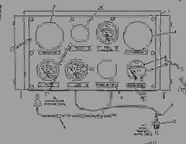 Parts scheme 4W5309 PANEL GROUP-INSTRUMENT BASIC PANEL GROUP-8 HOLE - ENGINE - INDUSTRIAL Caterpillar 3516 - 3516 INDUSTRIAL ENGINE 71Z00001-00241 GAUGES AND ACCESSORIES | 777parts