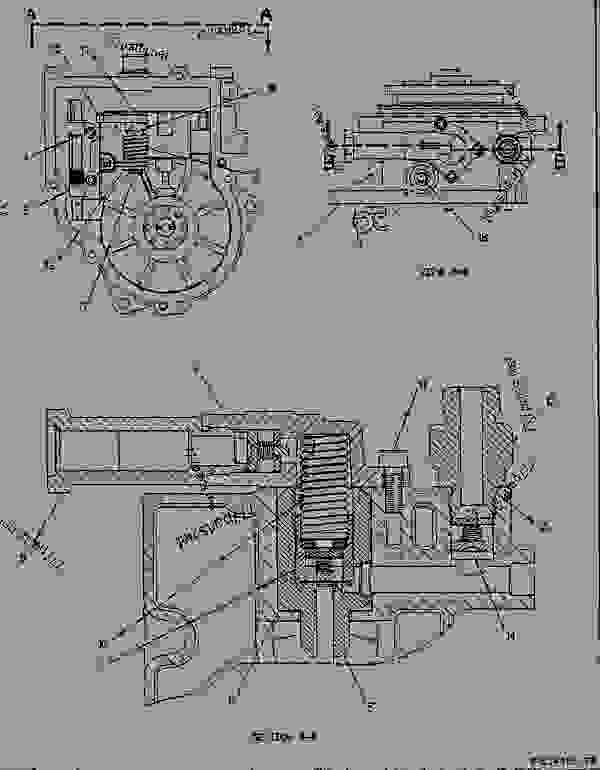 7e8794 drive group-gov & transfer pump - engine ... 3116 cat engine parts diagram