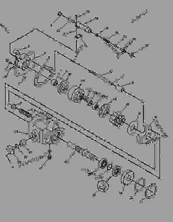 Parts scheme 8T5518 PUMP AS-HYDRAULIC  - COLD PLANER Caterpillar PR-450 - PR-450 COLD PLANER 7DC00204-UP (MACHINE) POWERED BY 3408 ENGINE POWER TRAIN | 777parts