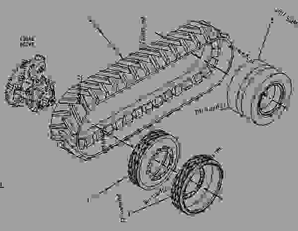 Parts scheme 1R0949 BELT & DRIVE GROUP  - CHALLENGER Caterpillar 75 - CHALLENGER 75 / POWER SHIFT / 4CJ00001-UP (MACHINE) POWERED BY 3176 ENGINE FRAME AND BODY | 777parts