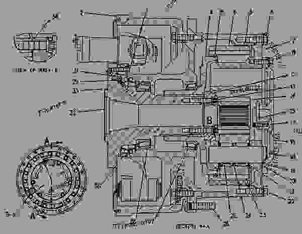 Parts scheme 1018338 WHEEL & FINAL DRIVE GROUP  - EARTHMOVING COMPACTOR Caterpillar 816B - 816B LANDFILL COMPACTOR 15Z00001-UP (MACHINE) POWERED BY 3306 ENGINE POWER TRAIN-POWER TRANSMISSION UNIT | 777parts