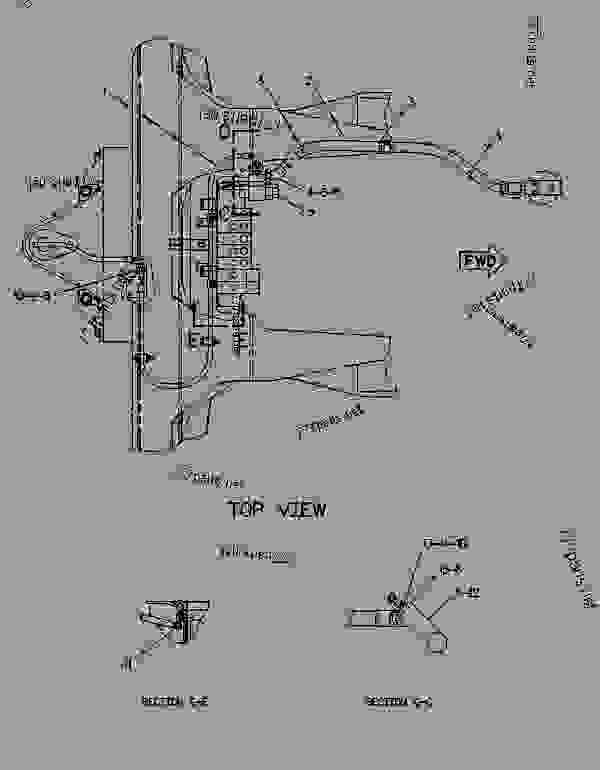 Parts scheme 9R8911 LINES GROUP-BOOM CHECK VALVE   - BACKHOE LOADER Caterpillar 438B - 428B BACKHOE LOADER 3KK00001-02999 (MACHINE) POWERED BY 3054 ENGINE HYDRAULIC SYSTEM | 777parts