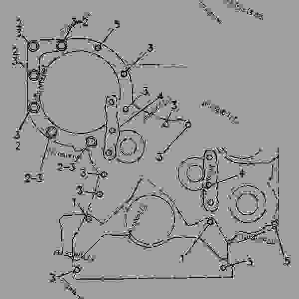 Parts scheme 3N2887 FASTENER GROUP-FRONT HOUSING FRONT HOUSING FASTENER GROUP - ENGINE - GENERATOR SET Caterpillar 3304 - 3304 GENERATOR SET ENGINE 6YB00001-UP BASIC ENGINE | 777parts