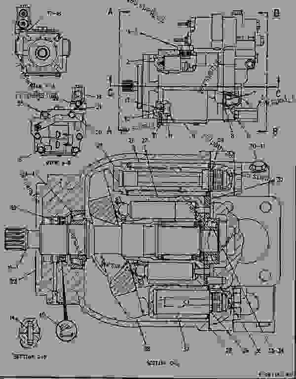 Parts scheme 1071246 PUMP GROUP-PISTON   - CHALLENGER Caterpillar 85C - CHALLENGER 85C / POWER SHIFT / 9TK00001-00999 (MACHINE) POWERED BY 3176 ENGINE HYDRAULIC SYSTEM | 777parts