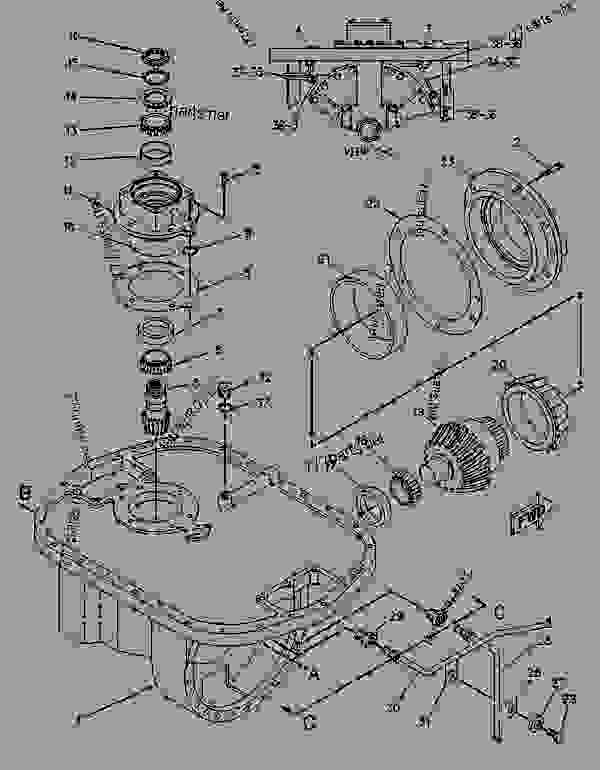 Parts scheme 8E7807 PLANETARY GROUP-DIFFERENTIAL STER  - CHALLENGER Caterpillar 65C - CHALLENGER 65C 2ZJ00001-00999 (MACHINE) POWERED BY 3306 ENGINE DIFFERENTIAL STEERING SYSTEM | 777parts