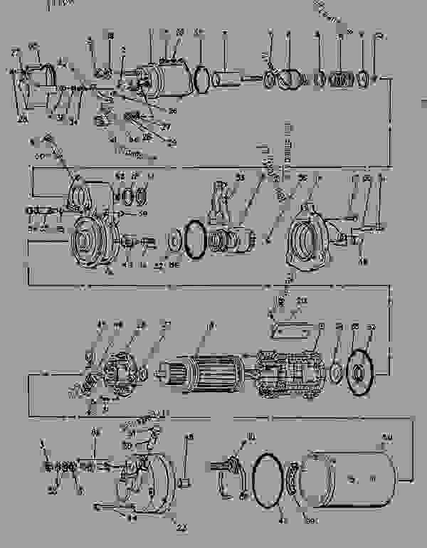Parts scheme 1068559 STARTING MOTOR GROUP-ELECTRIC ELECTRIC STARTING MOTOR GROUP (Delco Remy) - ENGINE - GENERATOR SET Caterpillar 3116 - 3116 GENERATOR SET ENGINE 2SG00001-UP STARTING AND ELECTRICAL SYSTEM | 777parts