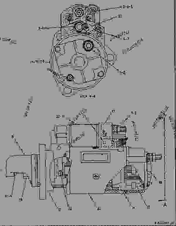 Parts scheme 6V5538 STARTING MOTOR GROUP-ELECTRIC  - ENGINE - GENERATOR SET Caterpillar 3208 - 3208 GENERATOR SET ENGINE 29A00225-UP STARTING AND ELECTRICAL SYSTEM | 777parts