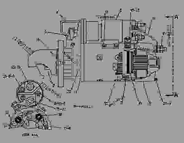 Parts scheme 8N2145 STARTING MOTOR GROUP-ELECTRIC ELECTRIC STARTING MOTOR GROUP--24 VOLT - ENGINE - GENERATOR SET Caterpillar 3306B - 3306B GENERATOR SET ENGINE 2AJ00001-UP STARTING AND ELECTRICAL SYSTEM | 777parts