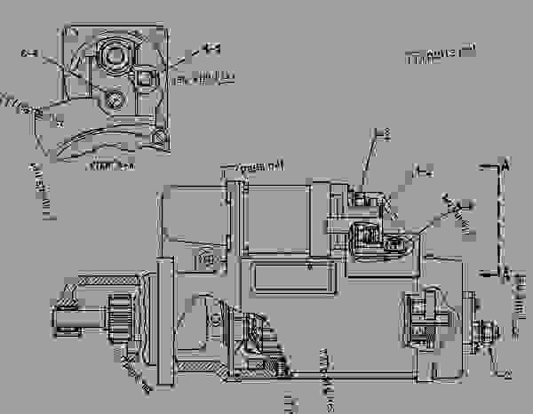 Parts scheme 1068557 STARTING MOTOR GROUP-ELECTRIC ELECTRIC STARTING MOTOR GROUP (Robert Bosch) - ENGINE - GENERATOR SET Caterpillar 3116 - 3116 GENERATOR SET ENGINE 2SG00001-UP STARTING AND ELECTRICAL SYSTEM | 777parts