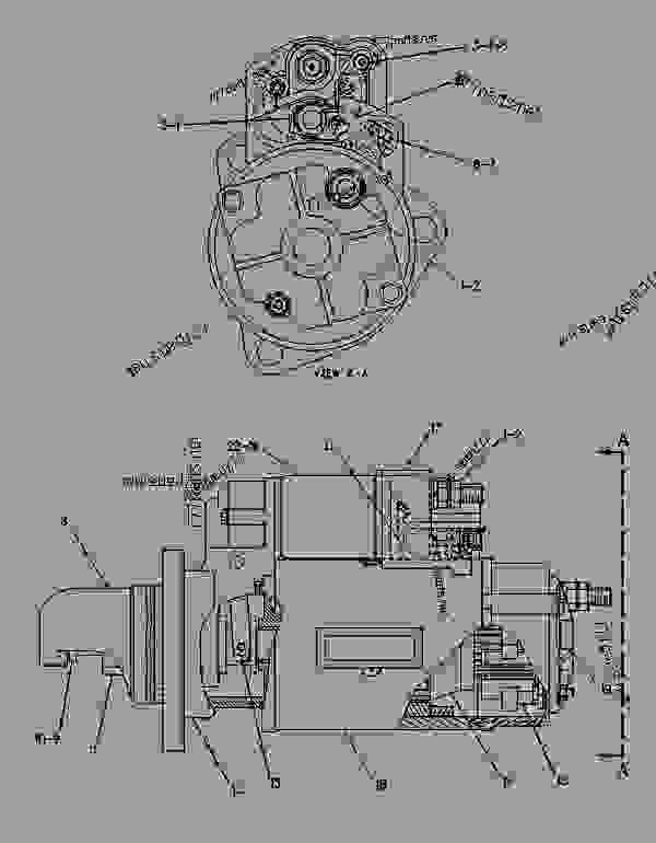 Parts scheme 6V5582 STARTING MOTOR GROUP-ELECTRIC (NIPPONDENSO) - ENGINE - GENERATOR SET Caterpillar 3406B - 3406C ENGINE GENERATOR SET 4PM00001-UP ELECTRICAL SYSTEM | 777parts