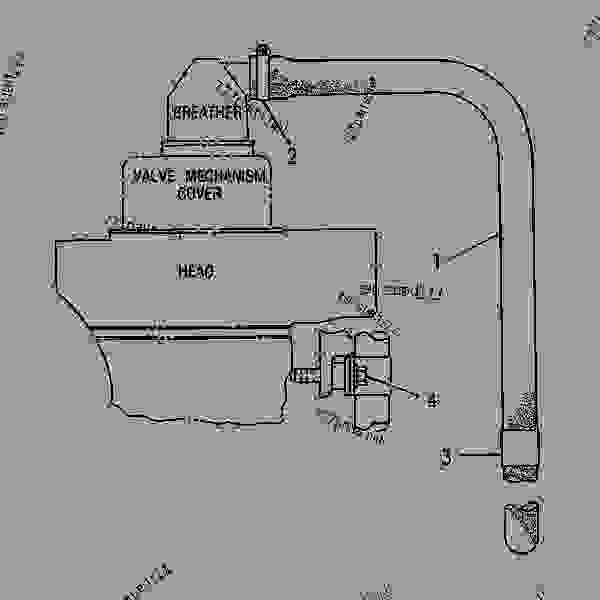 Parts scheme 1N4874 FUMES DISPOSAL GROUP  - ENGINE - GENERATOR SET Caterpillar 3304B - 3304 GENERATOR SET ENGINE 83Z00001-03095 LUBRICATION SYSTEM | 777parts