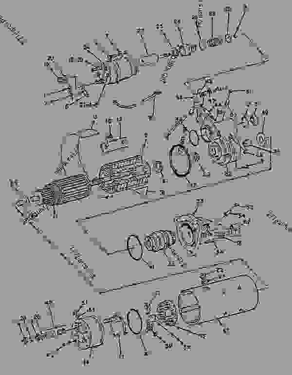 Parts scheme 9G4339 STARTING MOTOR GROUP-ELECTRIC   - ENGINE - GENERATOR SET Caterpillar 3208 - 3208 GENERATOR SET ENGINE 29A00225-UP STARTING AND ELECTRICAL SYSTEM | 777parts
