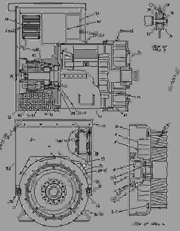 Parts scheme 1093770 GENERATOR GROUP GENERATOR GP-POWER - ENGINE - GENERATOR SET Caterpillar 3306B - 3306B GENERATOR SET ENGINE 2AJ00001-UP GENERATORS | 777parts