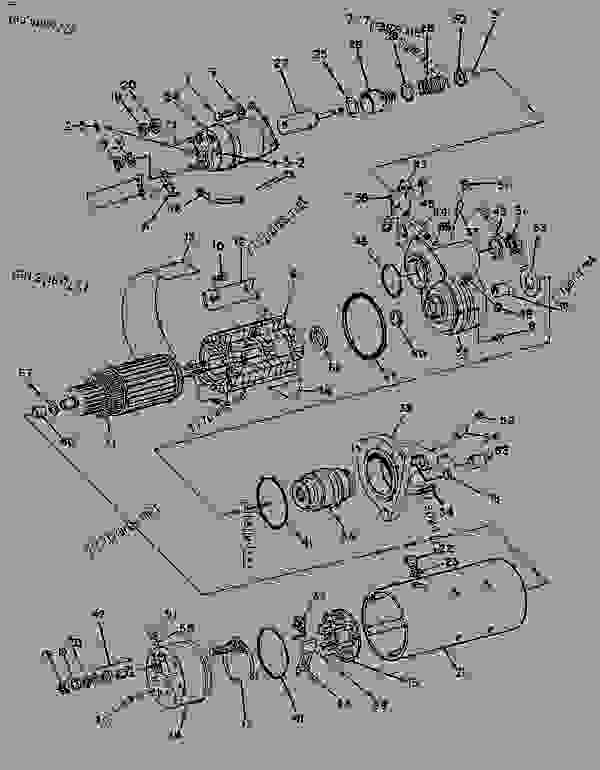 Parts scheme 8C3647 STARTING MOTOR GROUP STARTING MOTOR GROUP-ELECTRIC - ENGINE - GENERATOR SET Caterpillar 3208 - 3208 GENERATOR SET ENGINE 29A00225-UP STARTING AND ELECTRICAL SYSTEM | 777parts
