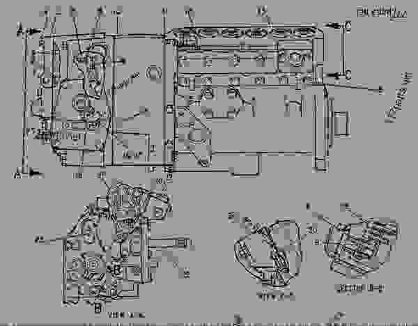 Parts scheme 7C9201 PUMP GROUP-GOV & FUEL INJ GOVERNOR & FUEL INJECTION PUMP GP - ENGINE - GENERATOR SET Caterpillar 3306B - 3306B GENERATOR SET ENGINE 2AJ00001-UP FUEL SYSTEM AND GOVERNOR | 777parts