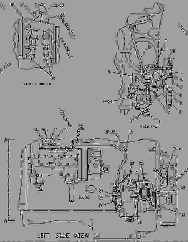 Parts scheme 1068765 STARTING MOTOR GROUP-AIR   - ENGINE - GENERATOR SET Caterpillar 3406B - 3406B GENERATOR SET ENGINE 2WB00001-11475 STARTING AND ELECTRICAL SYSTEM | 777parts