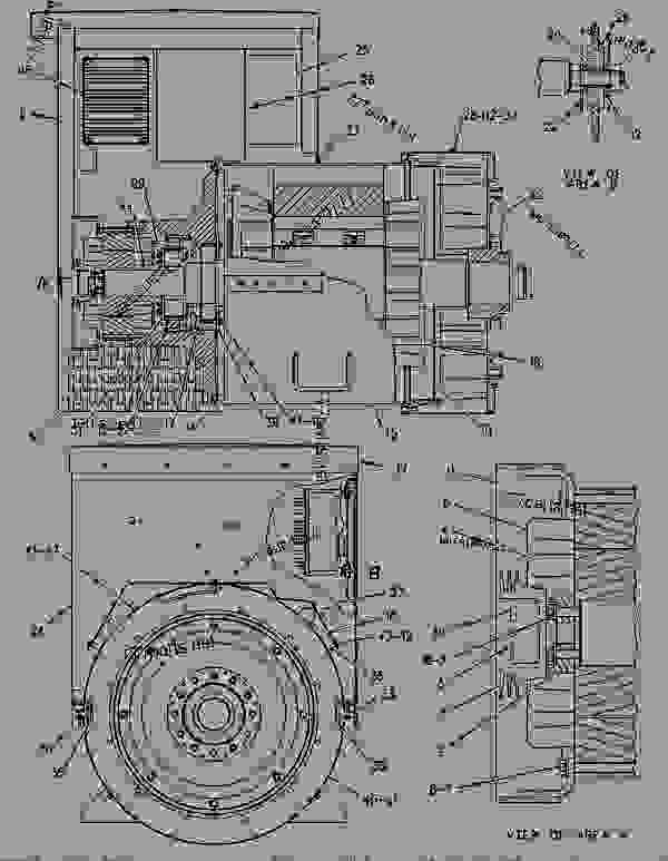 Parts scheme 1093772 GENERATOR GROUP GENERATOR GP-POWER - ENGINE - GENERATOR SET Caterpillar 3306B - 3306B GENERATOR SET ENGINE 2AJ00001-UP GENERATORS | 777parts
