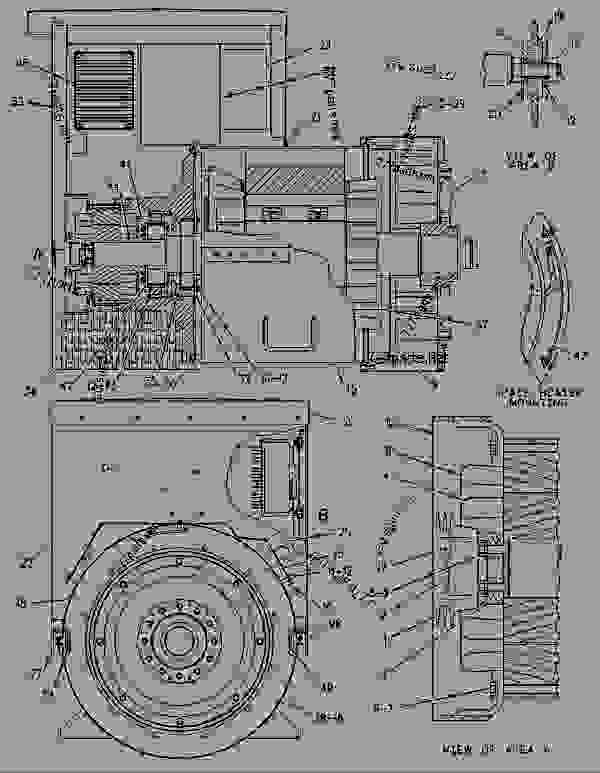 Parts scheme 1093786 GENERATOR GROUP GENERATOR GP-POWER - ENGINE - GENERATOR SET Caterpillar 3306B - 3306B GENERATOR SET ENGINE 2AJ00001-UP GENERATORS | 777parts