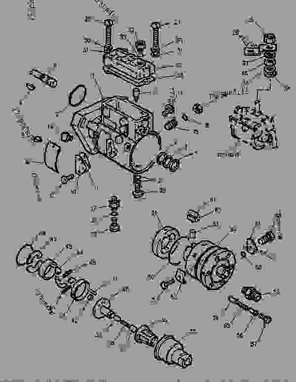 Parts scheme 6I1216 PUMP GROUP-FUEL INJECTION - 6i1216 - Caterpillar spare part | 777parts