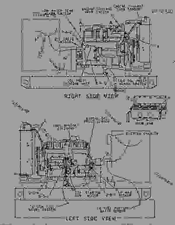 Parts scheme 1111313 WIRING GROUP  - ENGINE - GENERATOR SET Caterpillar 3406B - 3406C ENGINE GENERATOR SET 4PM00001-UP ELECTRICAL SYSTEM | 777parts