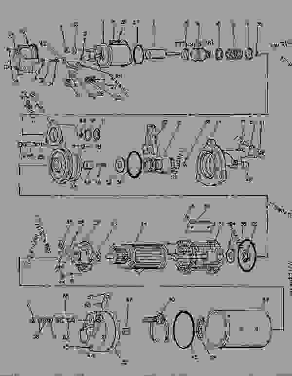 Parts scheme 1068559 STARTING MOTOR GROUP-ELECTRIC ELECTRIC STARTING MOTOR GROUP (Delco Remy) - ENGINE - GENERATOR SET Caterpillar 3116 - 3116 GENERATOR SET ENGINE 1NJ00001-UP STARTING AND ELECTRICAL SYSTEM | 777parts