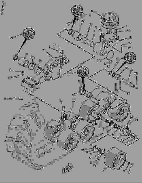 Parts scheme 1048030 SUSPENSION GROUP-BOGIE   - CHALLENGER Caterpillar 65C - CHALLENGER 65C 2ZJ00001-00999 (MACHINE) POWERED BY 3306 ENGINE FRAME AND BODY | 777parts
