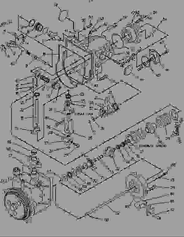 Parts scheme 1043743 GOVERNOR GROUP-UNIT INJECTOR  - ENGINE - GENERATOR SET Caterpillar 3116 - 3116 GENERATOR SET ENGINE 1NJ00001-UP FUEL SYSTEM AND GOVERNOR | 777parts