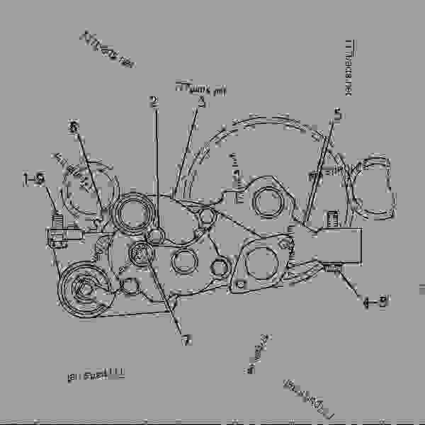 Parts scheme 2P1784 PUMP GROUP-ENGINE OIL ENGINE OIL PUMP GROUP - EARTHMOVING COMPACTOR Caterpillar 816B - 816B LANDFILL COMPACTOR 15Z00001-UP (MACHINE) POWERED BY 3306 ENGINE LUBRICATION SYSTEM | 777parts