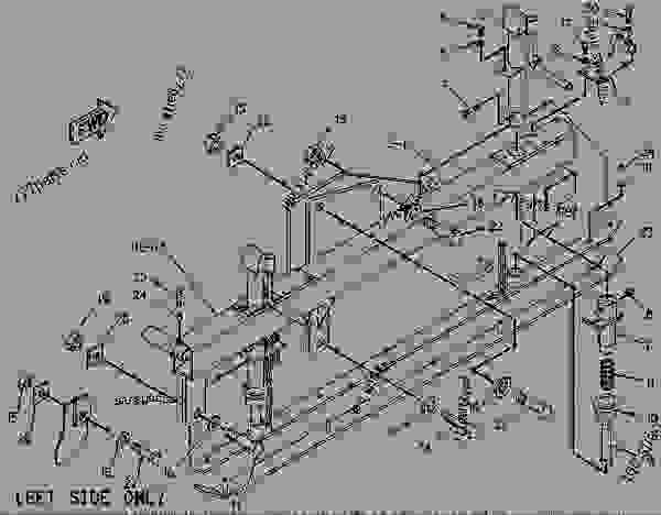 Parts scheme 1459440 GATE GROUP-END   - ASPHALT PAVER Caterpillar 10 FT - 10B PAVEMASTER SCREED 3PM00001-UP FRAME AND BODY | 777parts