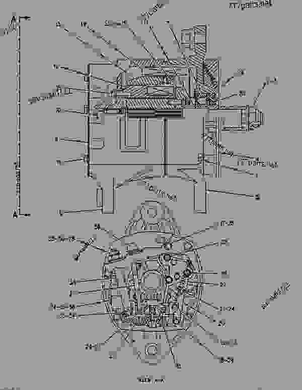 Parts scheme 3T6352 ALTERNATOR GROUP-CHARGING  - ENGINE - GENERATOR SET Caterpillar 3406B - 3406B GENERATOR SET ENGINE 2WB00001-11475 STARTING AND ELECTRICAL SYSTEM | 777parts