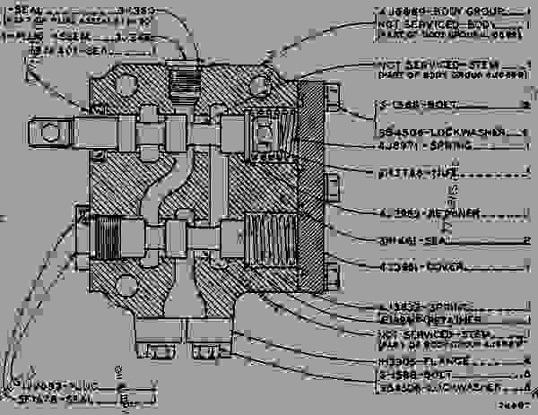 928f Cat Wheel Loader Transmission Schematics