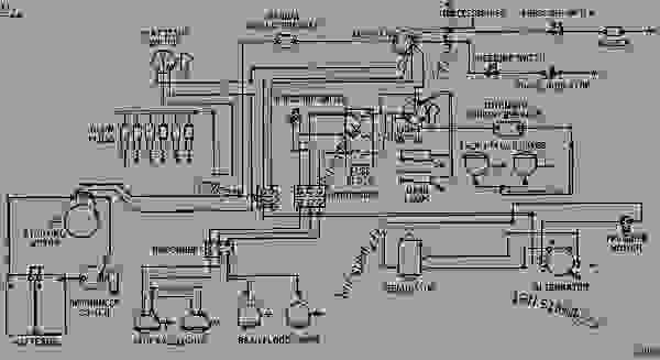 2y1969 electrical system wiring diagram - caterpillar