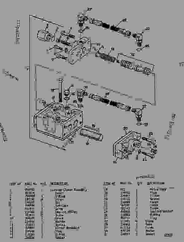Parts scheme 2U4847 TORQUE CONVERTER GROUP  - ARTICULATED DUMP TRUCK Caterpillar D44B - D44B ARTICULATED DUMP TRUCK 8SD00001-UP (MACHINE) POWERED BY 3408 ENGINE TRANSMISSION, DRIVE TRAIN, AXLES AND WHEELS | 777parts