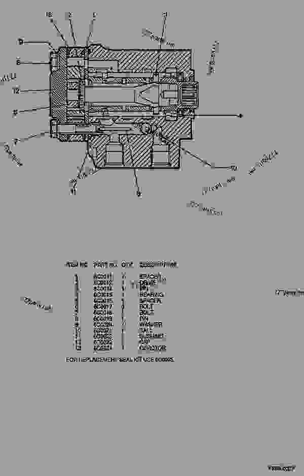 Parts scheme 6C0570 PUMP GROUP-METERING  - ARTICULATED DUMP TRUCK Caterpillar D44B - D44B ARTICULATED DUMP TRUCK 8SD00001-UP (MACHINE) POWERED BY 3408 ENGINE STEERING SYSTEM | 777parts