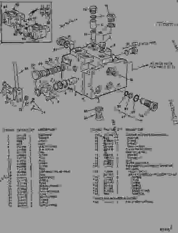 Parts scheme 7U0986 SUSPENSION HEIGHT VALVE  - ARTICULATED DUMP TRUCK Caterpillar D44B - D44B ARTICULATED DUMP TRUCK 8SD00001-UP (MACHINE) POWERED BY 3408 ENGINE SUSPENSION SYSTEM | 777parts