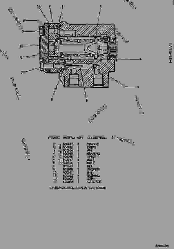 Parts scheme 6C0570 PUMP GROUP-METERING  - ARTICULATED DUMP TRUCK Caterpillar D550B - D550B ARTICULATED DUMP TRUCK 5ND00001-UP (MACHINE) POWERED BY 3408 ENGINE STEERING SYSTEM | 777parts