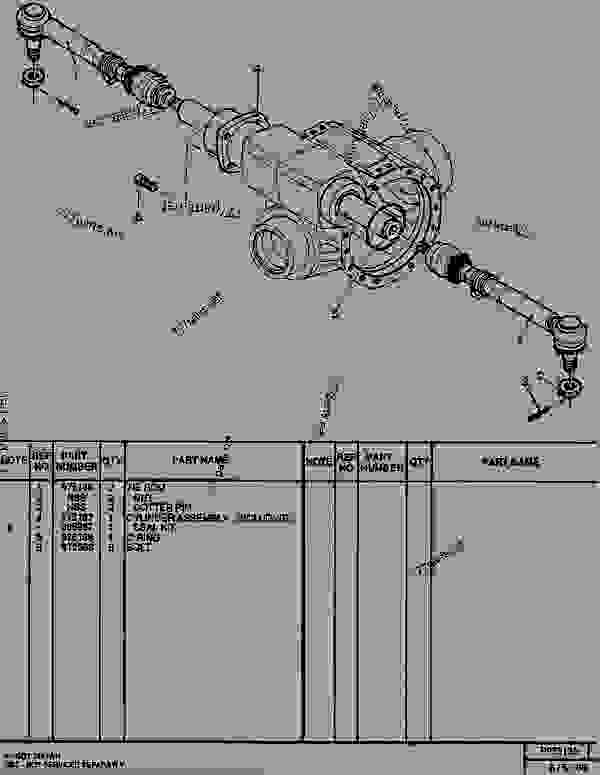 Parts scheme 0975135 HARNESS AS  - TELEHANDLER Caterpillar RT50SA - RT50, RT50 SA, RTC60, RT60 TELESCOPIC MATERIALS HANDLER 8DJ00001-UP (MACHINE) POWERED BY 4.236 DIESEL ENGINE AXLES AND BRAKES | 777parts